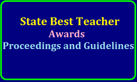 State Best Teacher Awards Proceedings and Guidelines for the year 2019 /2019/07/state-best-teacher-awards-proceedings-and-guidelines-2019.html