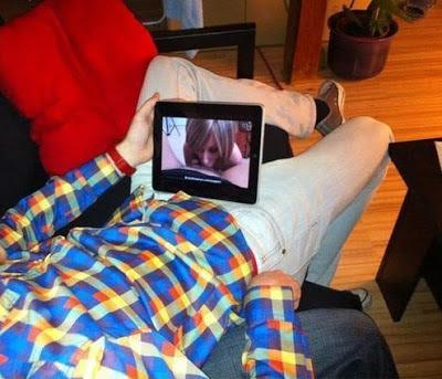 witzige Bilder - Menschen mit Tablet Pc lustig