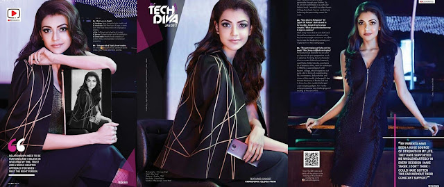 Kajal Agarwal 'Tech Diva' New Photoshoot January 2017