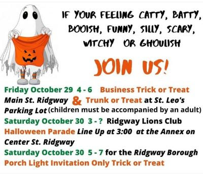 10-29/30 Ridgway Halloween Times