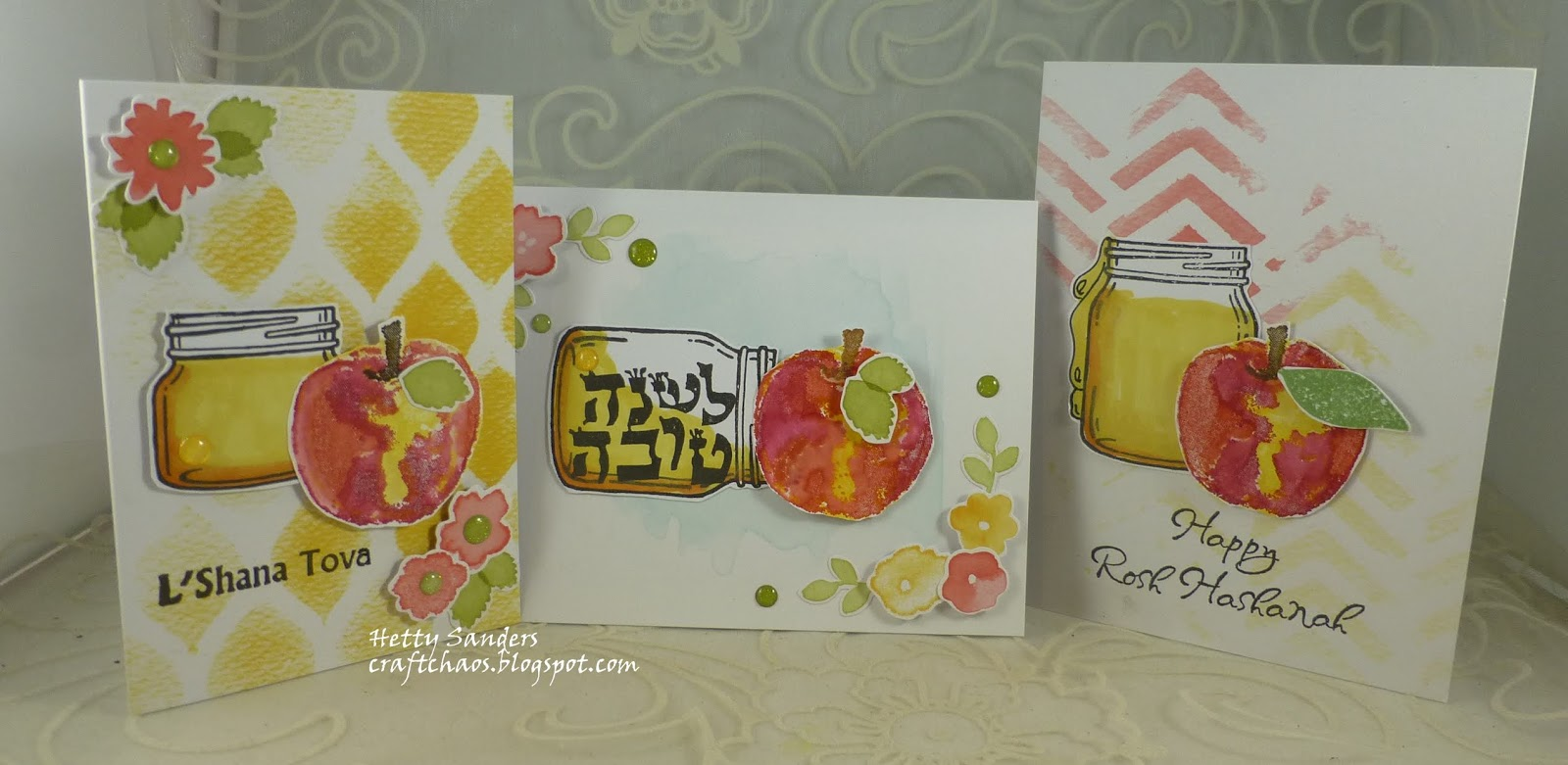 Craftchaos More Inspiration For Jewish New Year Cards