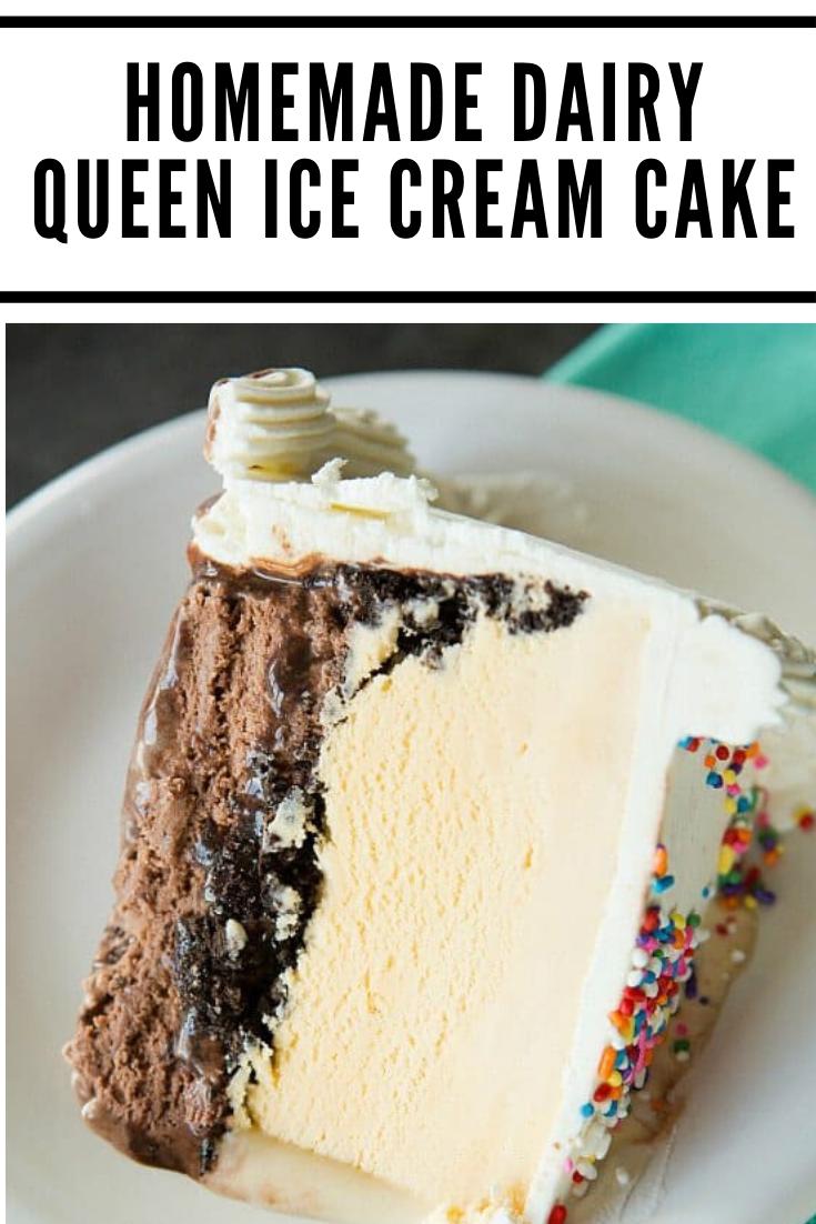 DAIRY QUEEN ICE CREAM CAKES - YouTube
