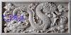 Ukiran relief NAGA batu alam putih