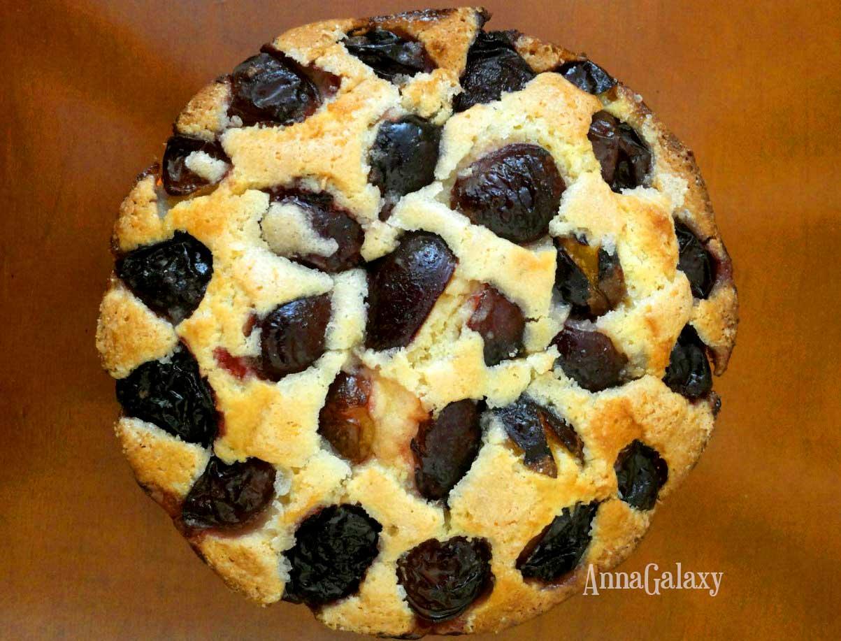 Фото рецепт венский пирог со сливами