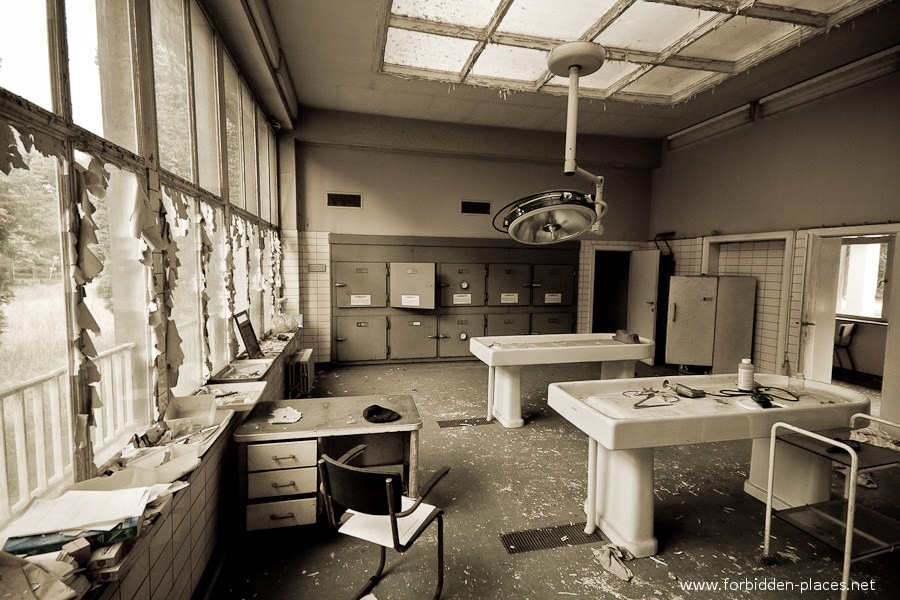 Antwerp's Forensic Institute, Belgium | 10 Scariest Abandoned Hospitals in the world