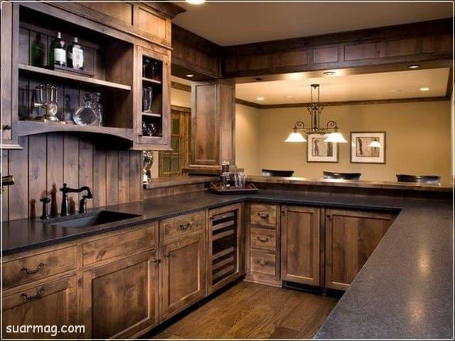 مطابخ خشب 2020 6   Wood Kitchens 2020 6