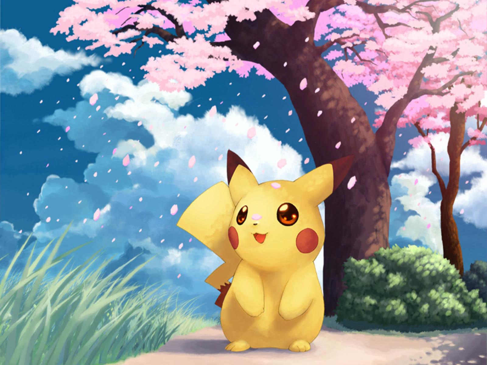 pikachu pokemon wallpaper - photo #17