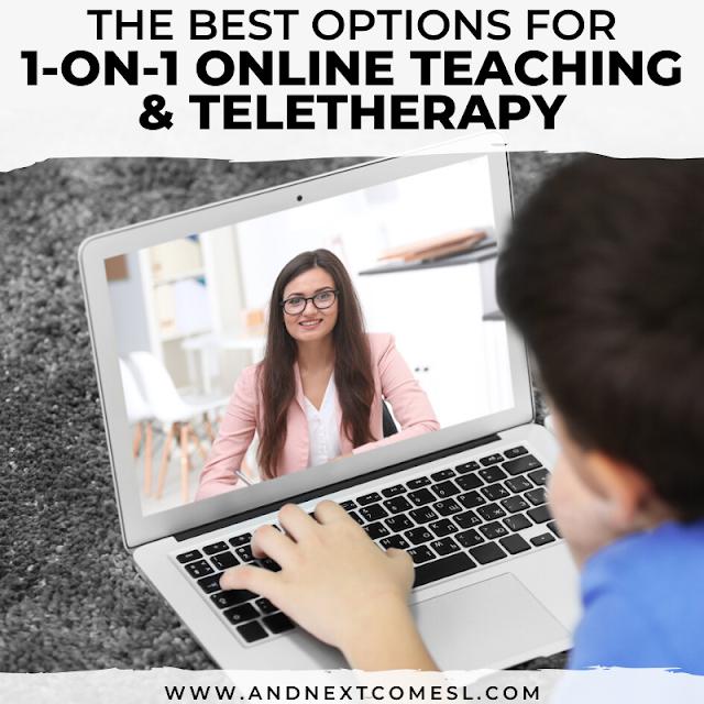 Teletherapy platforms