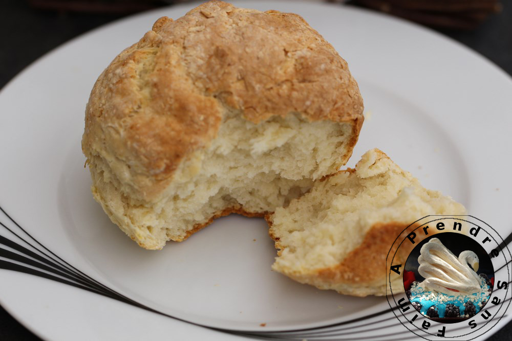 Pain rapide au fromage blanc