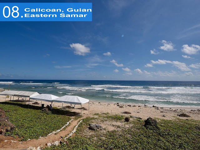 Calicoan Island. Guiuan. Eastern Samar (Visayas Surfing Capital)