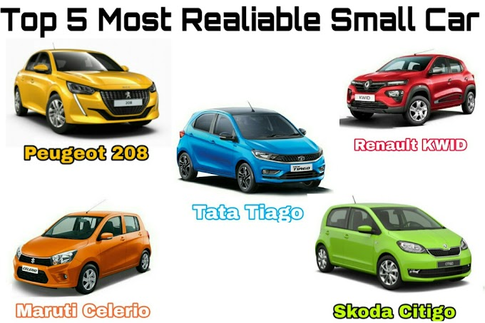 Top 5 Most Reliable Small Car 2020