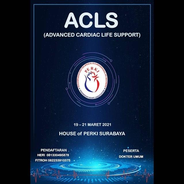 Info Pendaftaran ACLS 2021 PERKI Surabaya