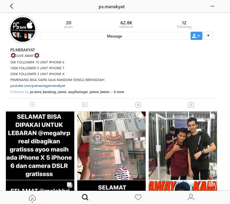Rekomendasi Beli Handphone 2018 Cuma Di Putra Siregar Merakyat