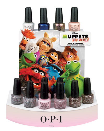 OPI Disney's Muppets Most Wanted Collection