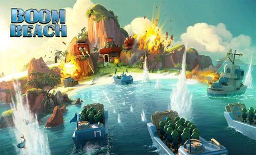 """يعود لنا مُبدعي وصانعوا لعبة كلاش أوف كلانس _Clash of Clans بلعبة أكثر من رائعة والتي أتت تحت مُسمى """"Boom Beach"""". وهي شبيهة نوعًا ما بلعبة كلاش أوف كلانس"""