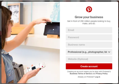 Pinterest Account Sign Up – Pinterest Account Sign Up with Facebook