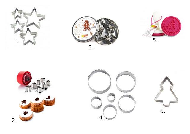 Idées shopping emporte-pièces pour biscuits de Noel