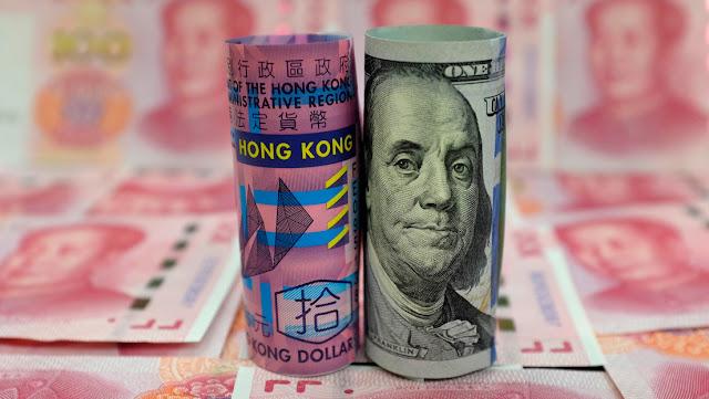 La Casa Blanca estudia 'desconectar' la moneda de Hong Kong del dólar estadounidense para castigar a Pekín