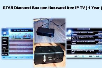 STAR DIAMOND BOX | A Digital Satellite Receiver with one year free IPTV subscription