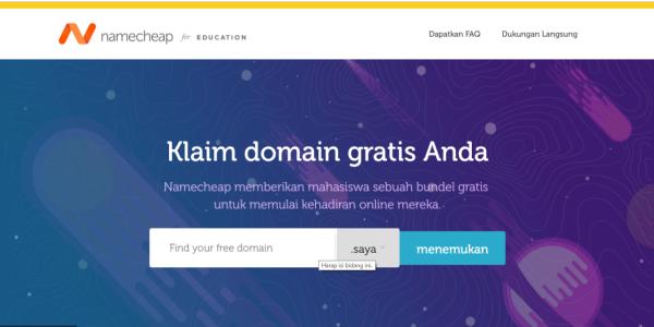 cara mendapatkan domain me gratis