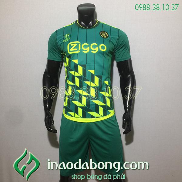Áo bóng đá training CLB Ajax màu xanh 2020
