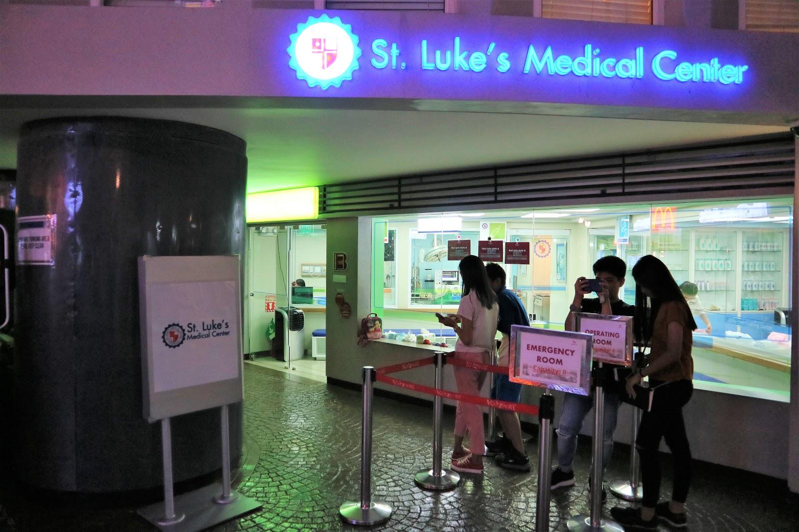 St. Luke's Medical Center in KidZania Manila