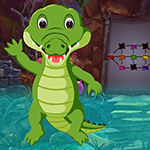 Games4King Saltwater Crocodile Rescue
