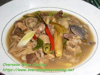 Pinapaitan with Tanglad Recipe