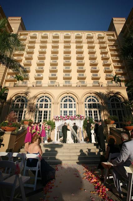 ritz carlton naples wedding photographer ceremony
