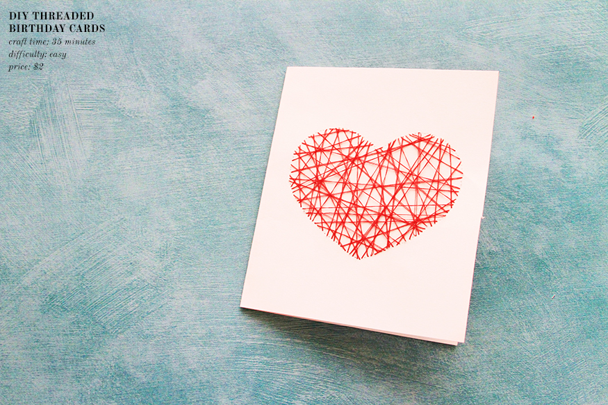 The Kipi Blog: DIY Project || #2 || Threaded Heart ...