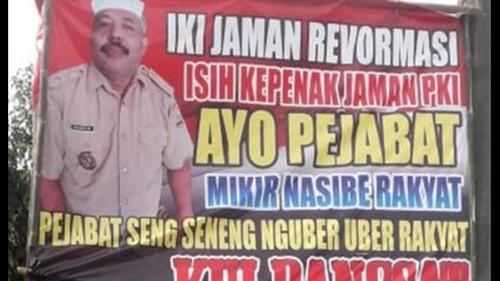 Emosi dengan PPKM, Kades Caci Maki Pejabat: Enak Zaman PKI