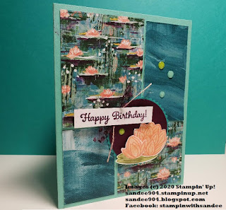 Simple Stamping Greeting Card