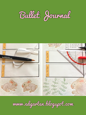 Pin Bullet Journal April