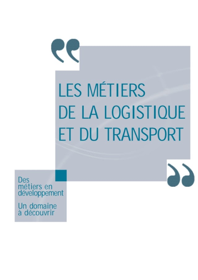 Les Métiers de logistique PDF