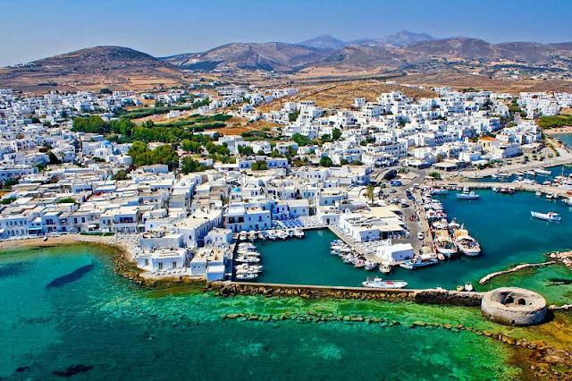 Praias ilha de Paros, Grécia