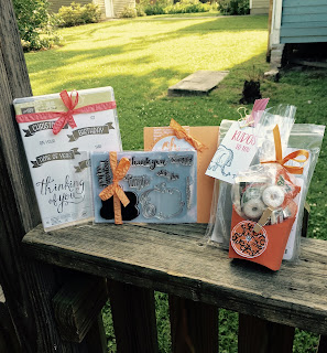 Prizes from Paper Made Prettier at June Team Meeting - All Stampin' Up!