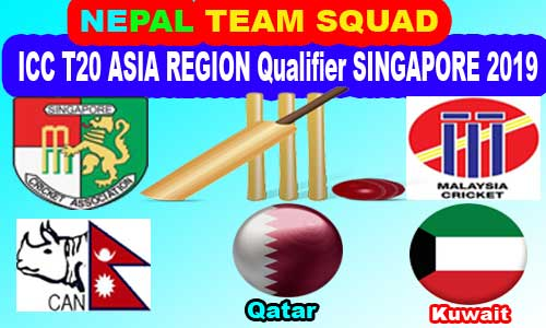 NEPALI TEAM for ICC T20