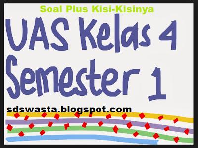 Contoh Soal UAS Kelas 4 SD Kurikulum 2013 Plus Kisi-Kisinya
