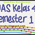 Contoh Soal UAS Kelas 4 SD Kurikulum 2013 Plus Kisi-Kisinya | SD SWASTA