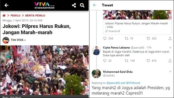 Soal Marah-marah, Said Didu Sindir Jokowi