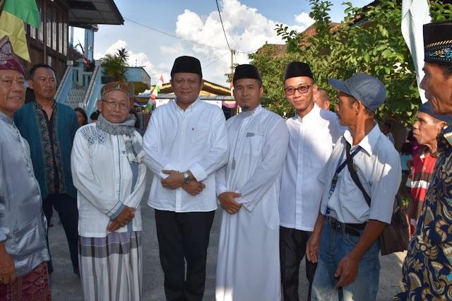 Pasangan Enos- Yudha, Ingatkan Warga OKU Timur pada Sosok Herman Deru-Kholid MD