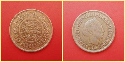 20 coronas danesas