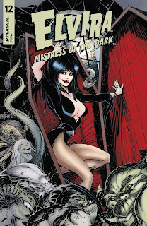 Elvira: Mistress of the Dark #12 Cover A from Dynamite Entertainment