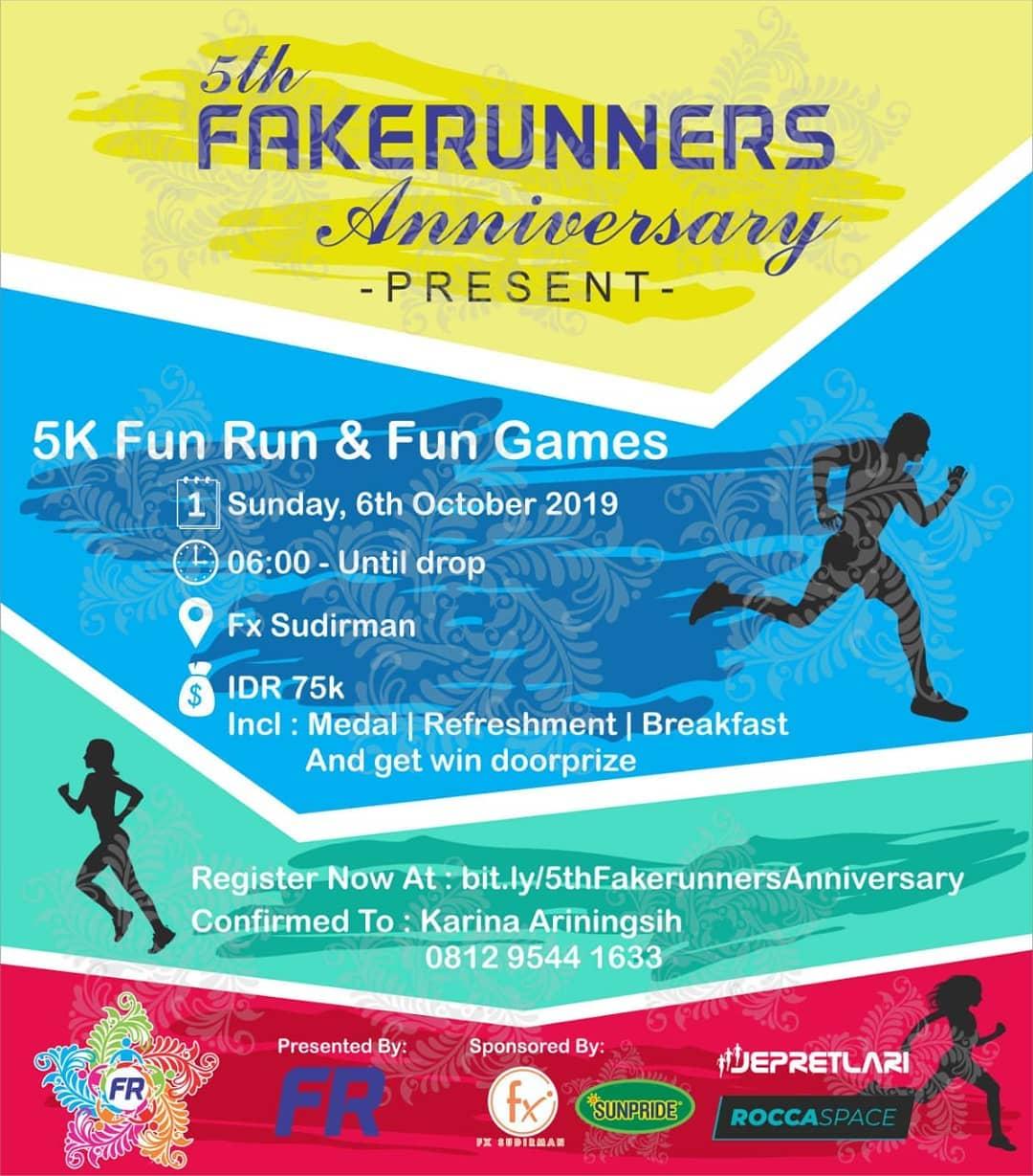 5th Fakerunners Anniversary • 2019