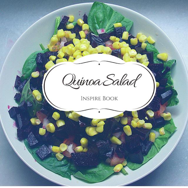 Ensalada de quinoa!