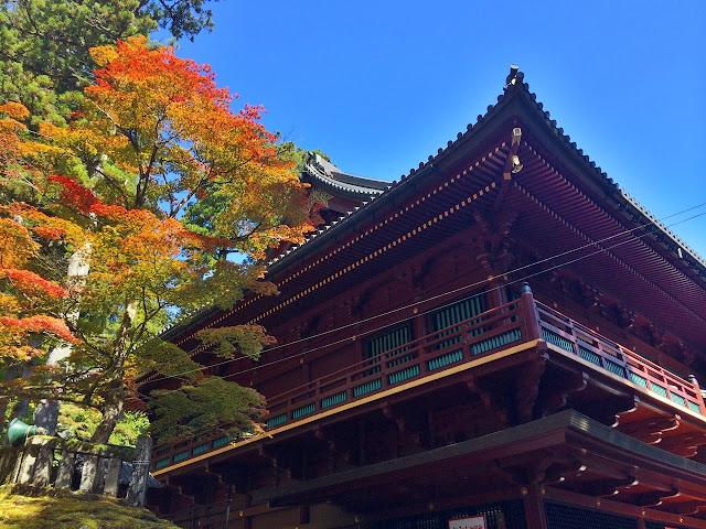 the UNESCO sight of Nikko