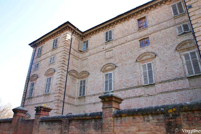 Facciata esterna del Castello Reale di Govone