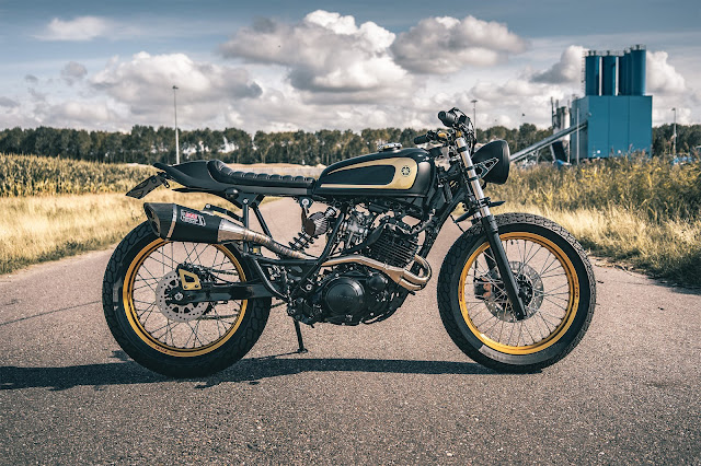Yamaha XT600 By Ironwood Custom Motorcycles Hell Kustom