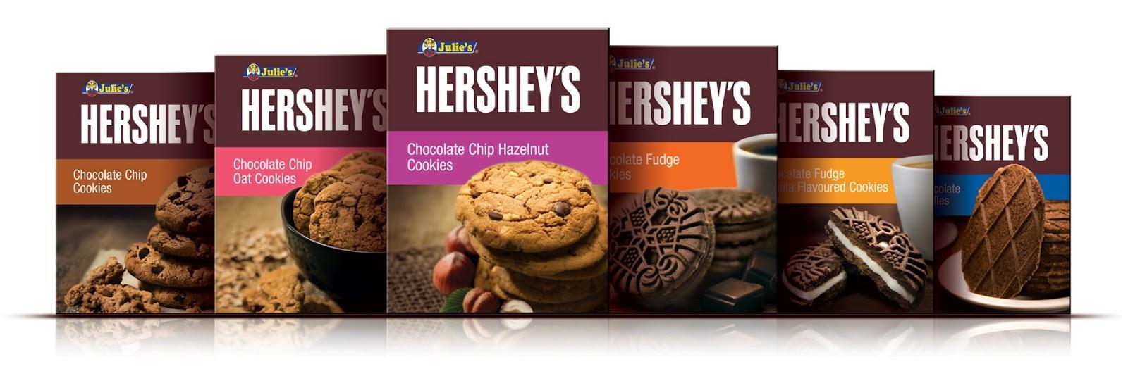 6 Variasi Baru Biskut Julies Hersheys Ayue Idris Chocolate Untuk Siri Gandingan Bersama Ni Ada Flavor
