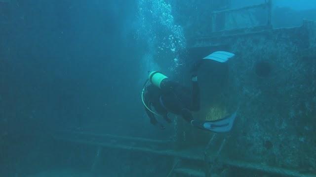 Diving the Hoyt Vandenberg